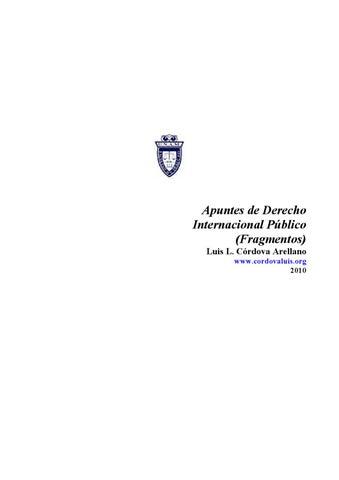 Modesto Seara Vazquez Derecho Internacional Publico Pdf