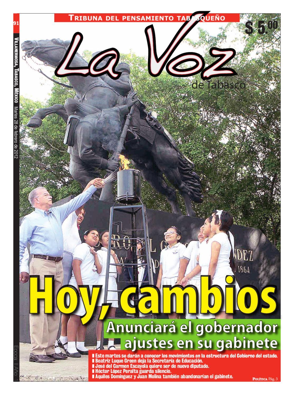 La Voz De Tabasco Martes 28 De Febrero De 2012 By Grupo