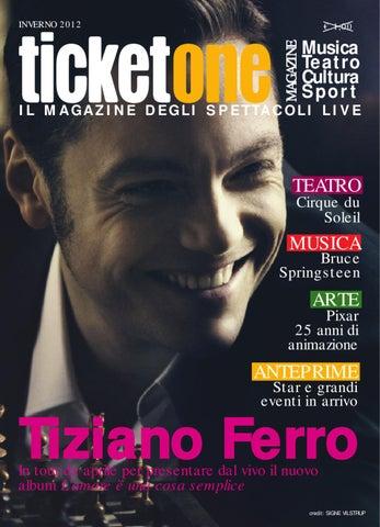 TicketOne Magazine Inverno 2012 by TicketOne - issuu 17578ed928a9