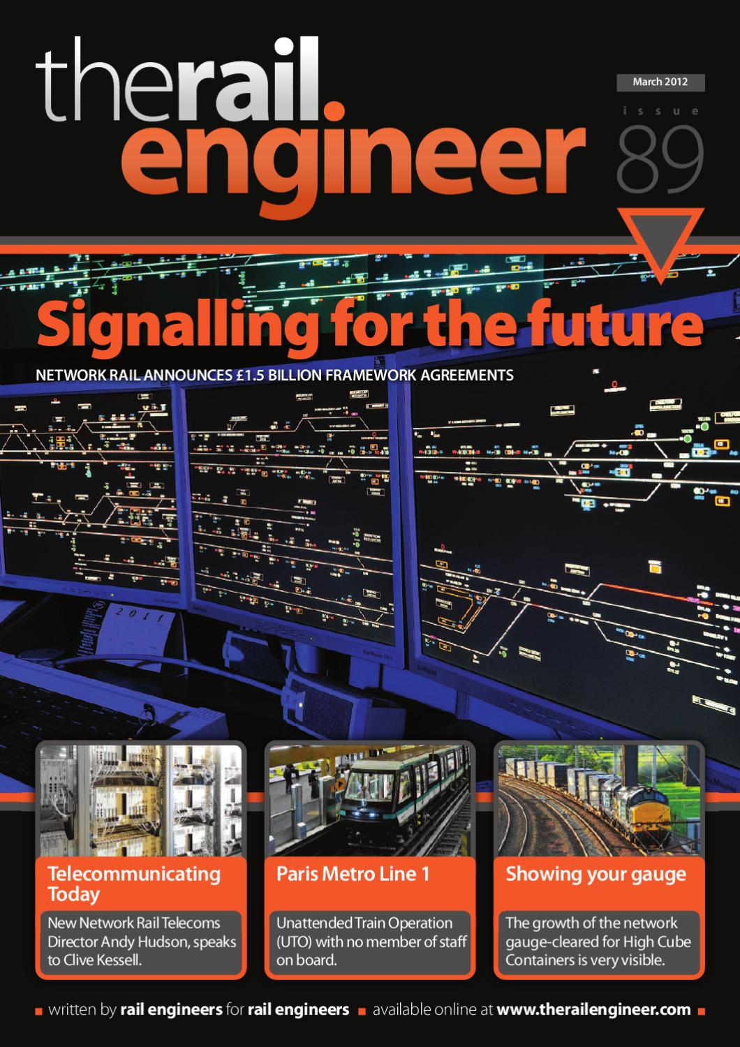 The Rail Engineer Issue 89 March 2012 By Rail Media