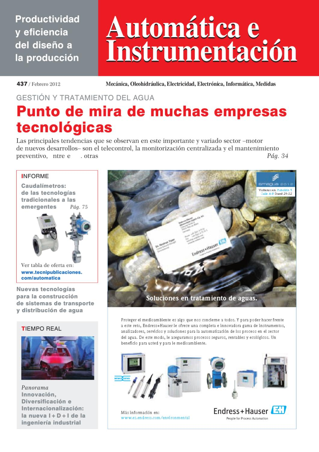 Automatica-437 by Digital Newspapers S.L. - issuu