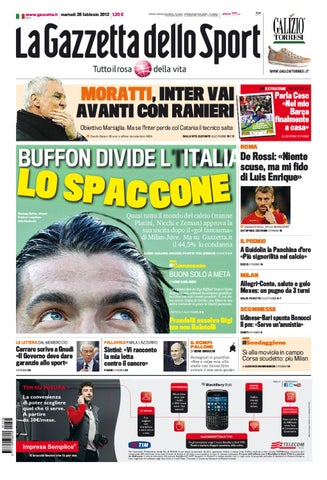 Gazzetta dello Sport  Uefa Streaming  by Gabriele Florio - issuu 128ff517c23eb