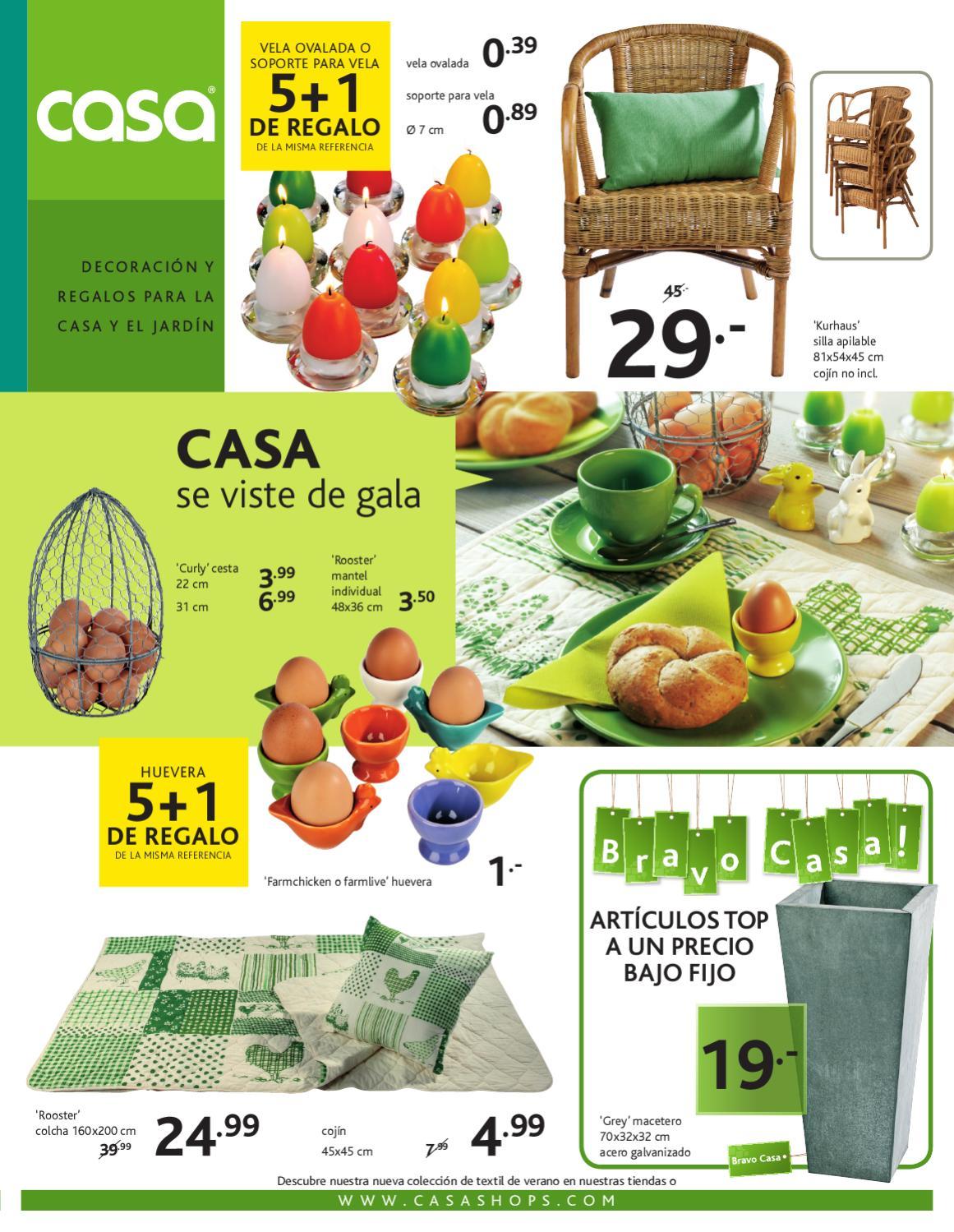 Cat logo casashops decoraci n primavera 2012 by - Casashops catalogo ...