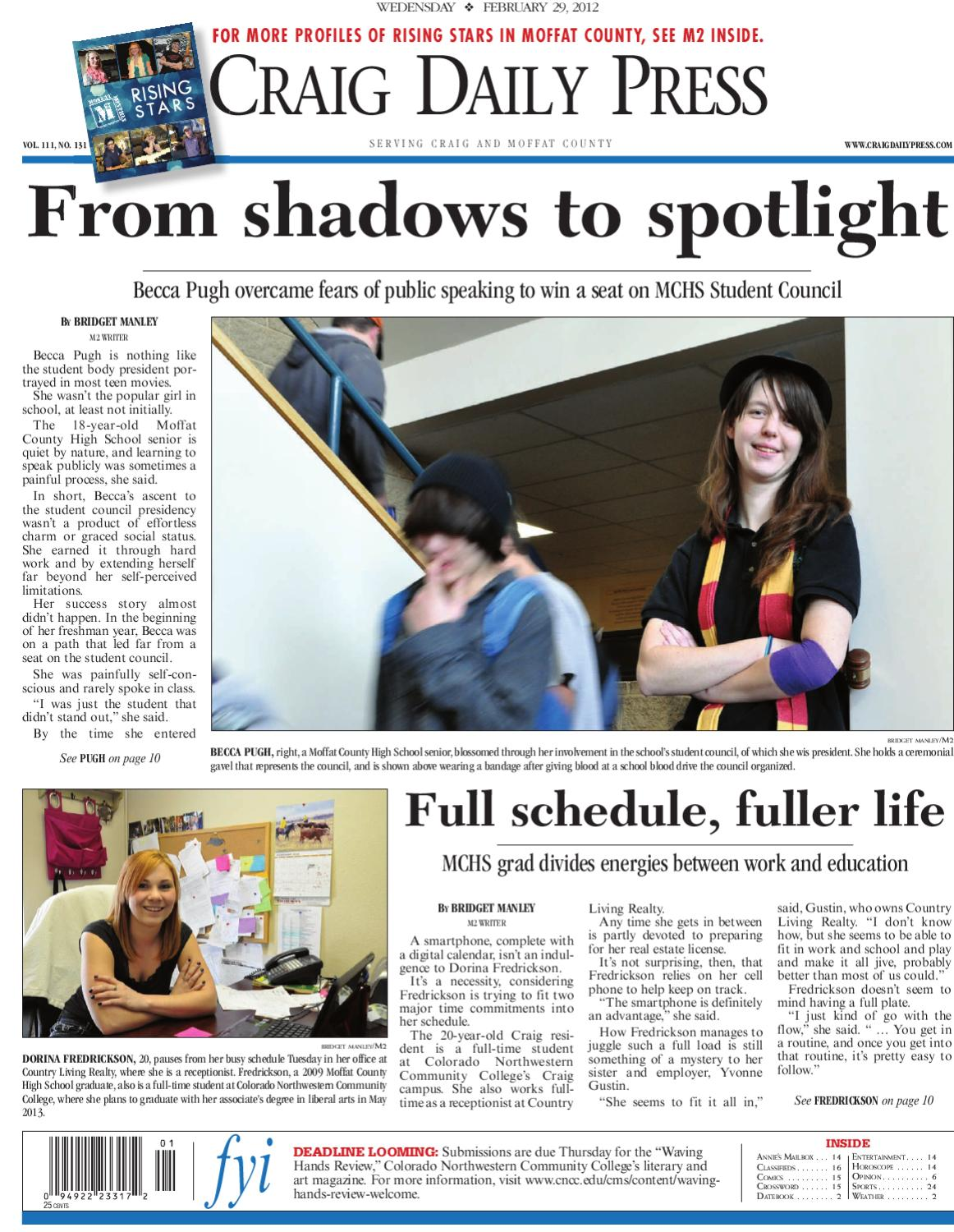 Craig Daily Press by Steamboat Pilot & Today - issuu