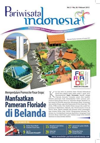 Newsletter Pariwisata Indonesia Edisi Terbaru Februari 2012 By