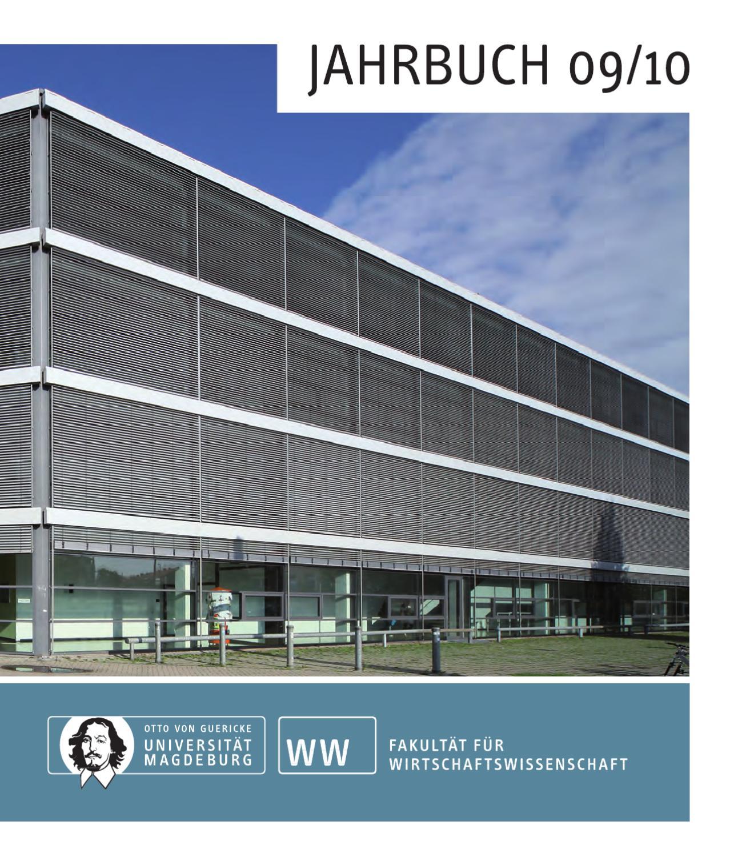 Jahrbuch 2009/10 by Otto-von-Guericke-Universitt Magdeburg - issuu