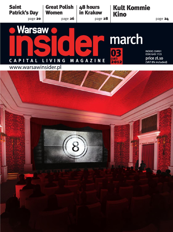 f06eaa620b Warsaw Insider March 2012 by Valkea Media Pro - issuu