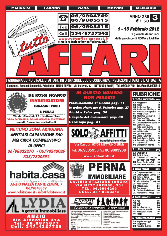 Giornale 1 15 febbraio 2012 by tutto affari issuu - I giardini di alice latina ...