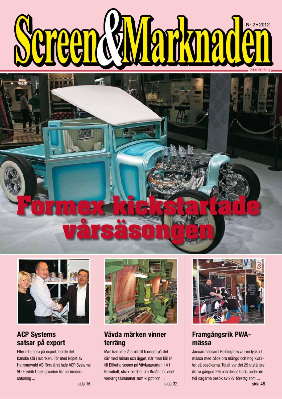 2edd62e8e600 Screen&Marknaden nummer 2-2012 by Martin Eriksson - issuu