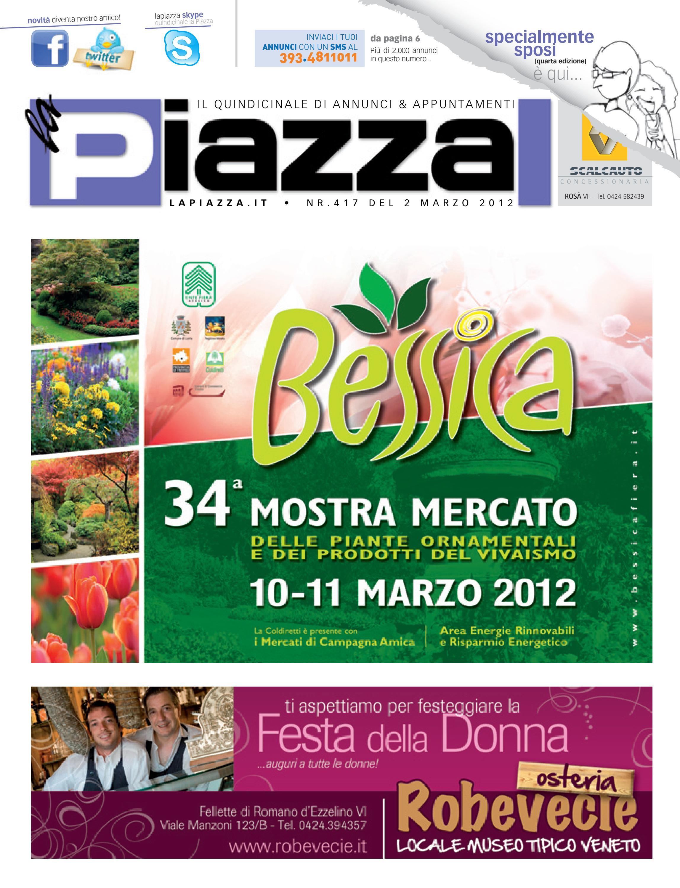 la Piazza 417 by la Piazza di Cavazzin Daniele - issuu 778ed84ecbe5