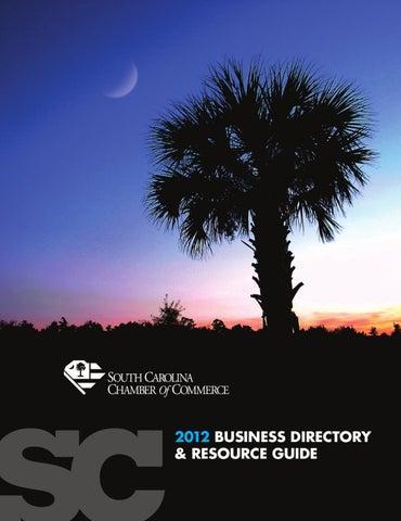 2012 SC Chamber Directory