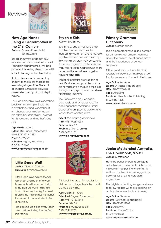 Get Ahead Kids Magazine Vol  4  No  2  Mar/Apr 2012 by MAP