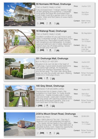 Weekly Property Update