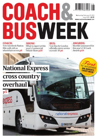 16443770dd11 Coach   Bus Week   Issue 1025 by Coach and Bus Week   Group Travel ...