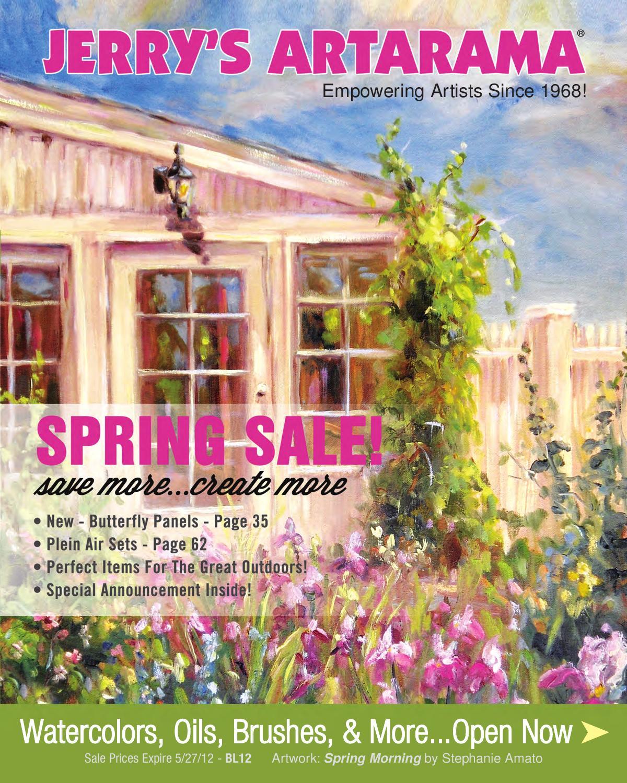 Jerrys Artarama Spring 2012 Sale By Issuu Plastic Stackable Trays Black 55221