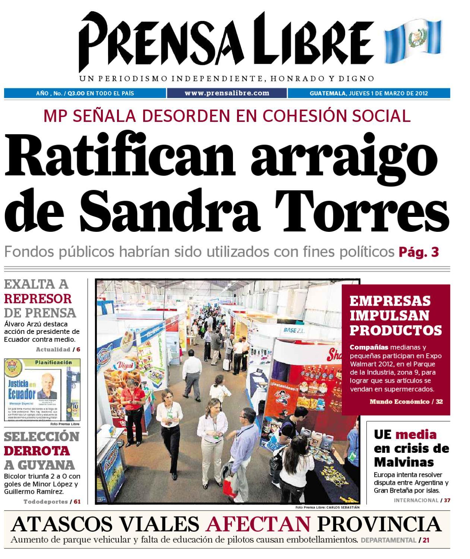 PDF,01032012 by Prensa Libre - issuu