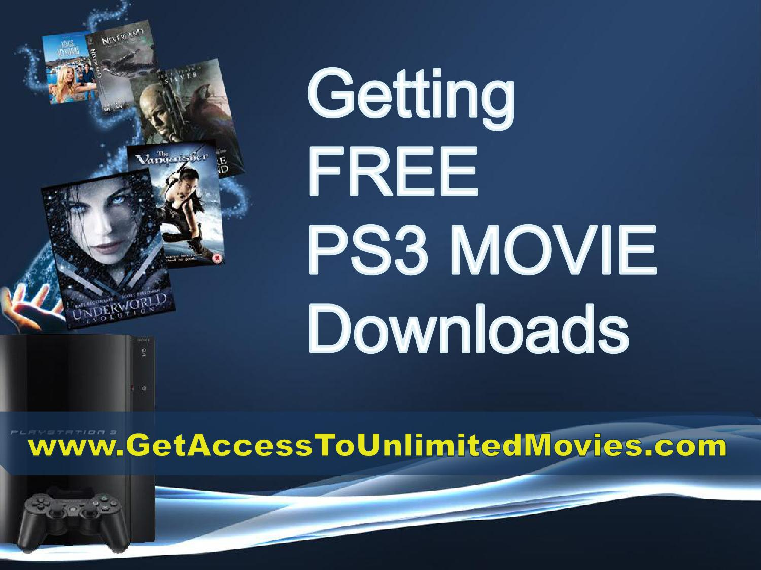 free downloads ps3