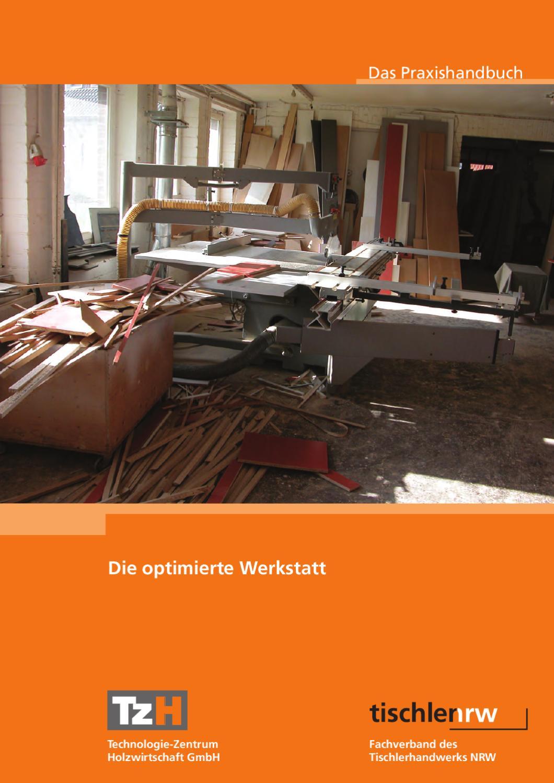 die optimierte werkstatt - praxishandbuch by technologie-zentrum