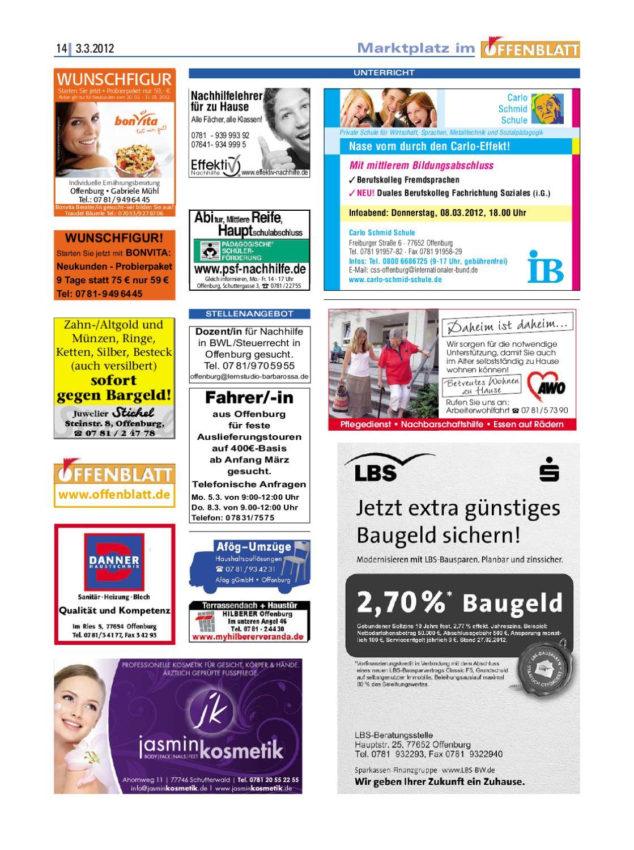 Offenblatt 08 2012 By Offenburg Offenblatt Issuu