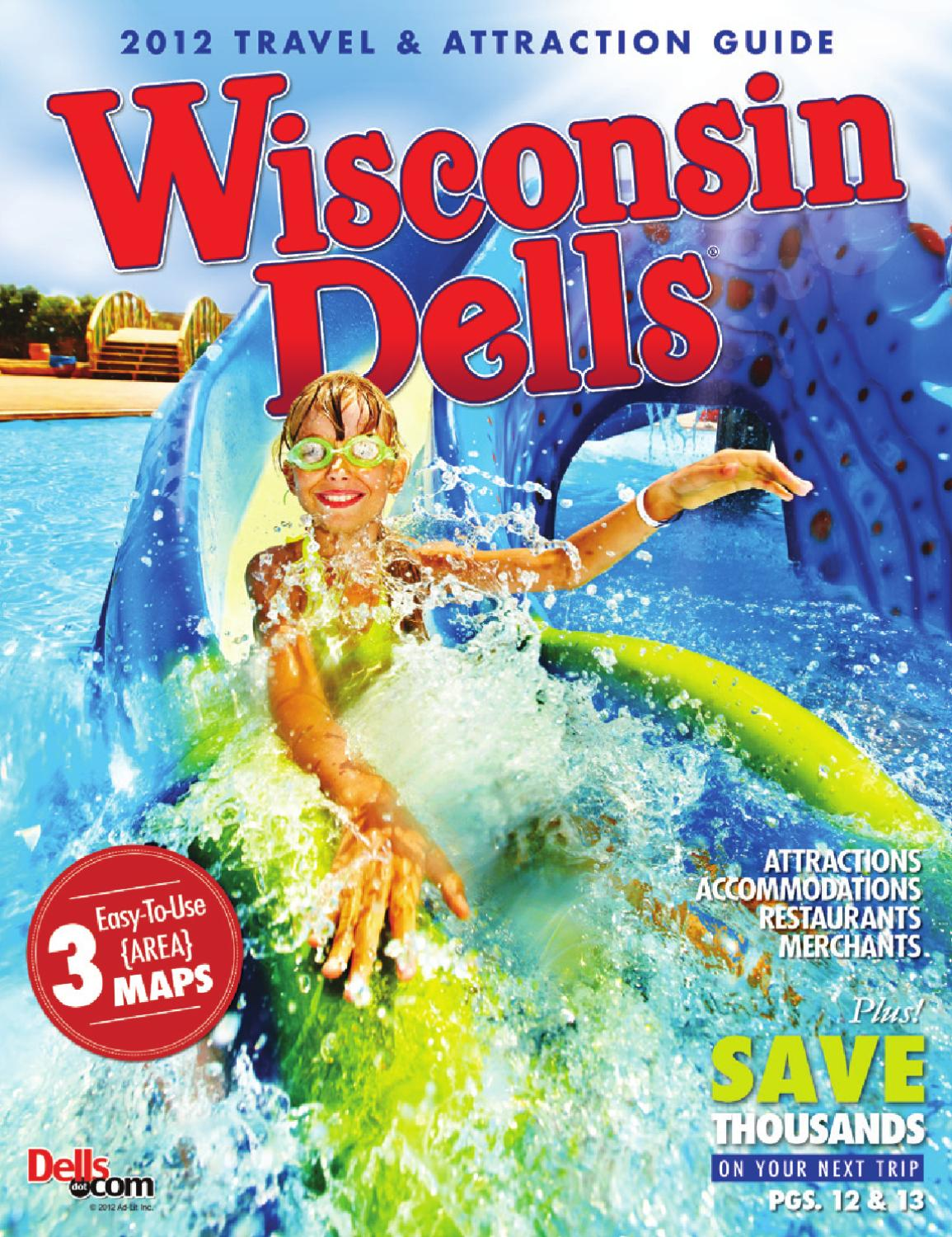 Wisconsin Dells Travel Attraction Guide 2012 By Vector Ink Issuu
