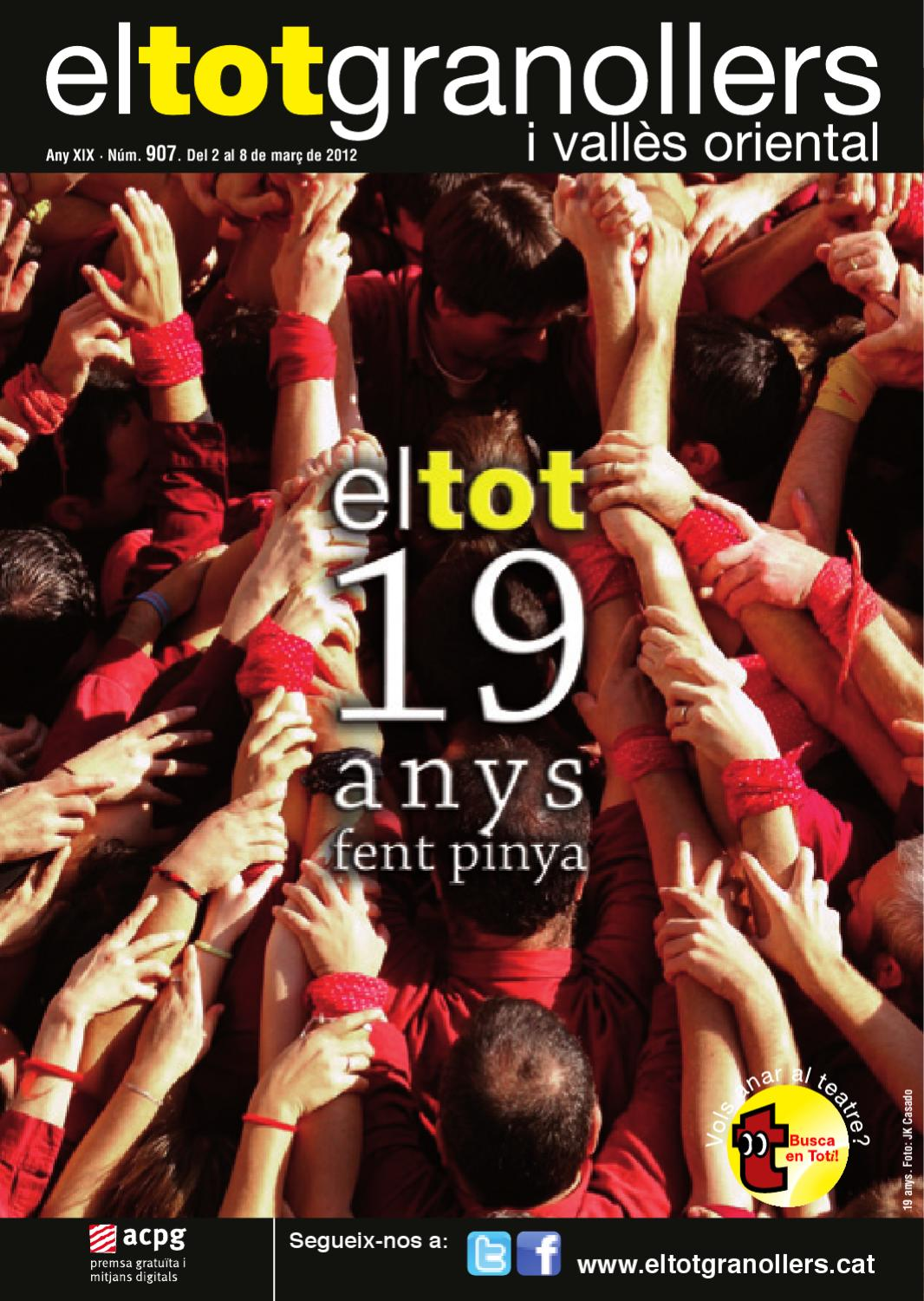 El tot granollers 907 by el tot granollers i vall s for Lober granollers