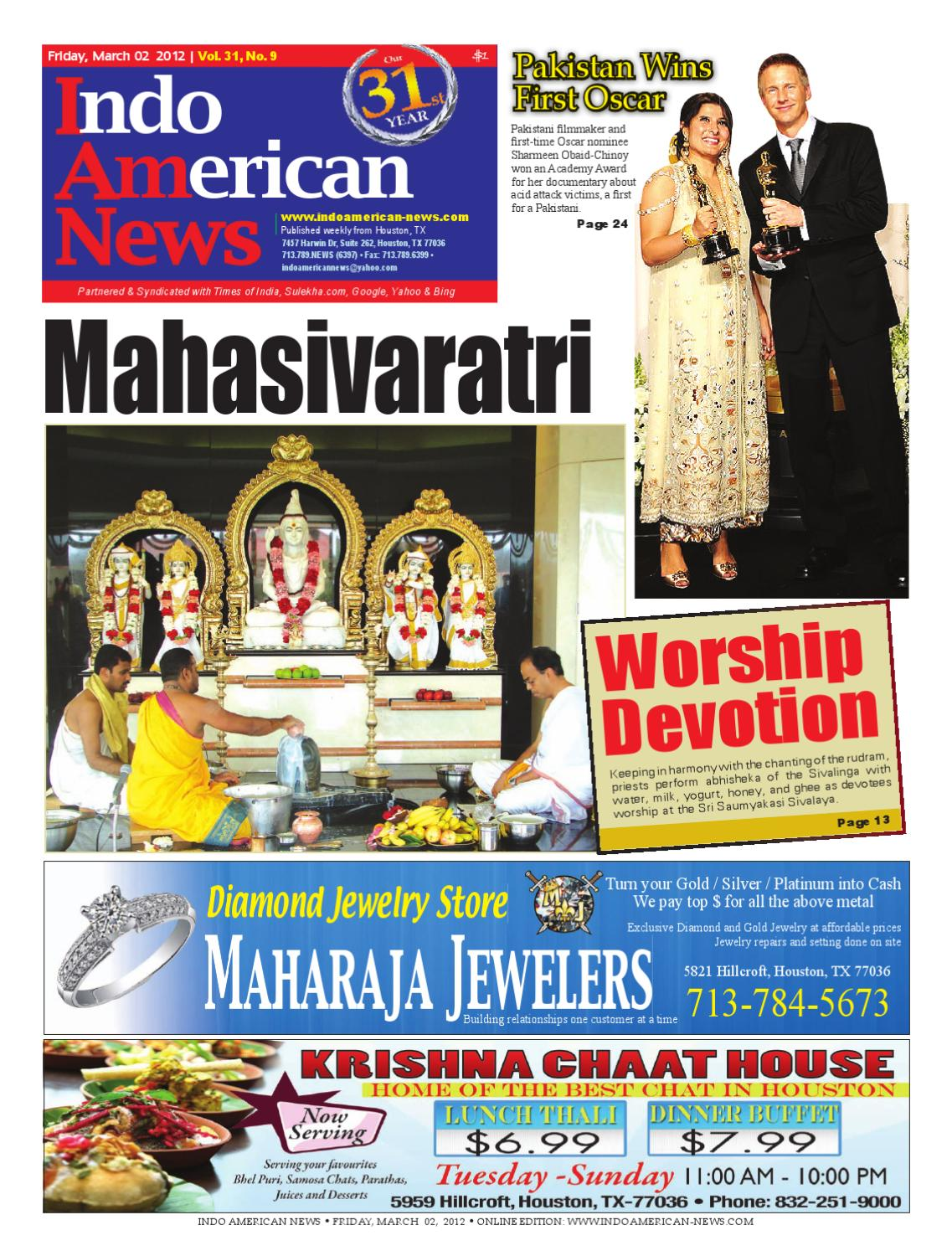 March 02 Pages 1 36 By Indo American News Issuu