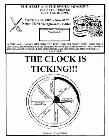 Sept 27th, 2005: The Clock Is Ticking by Nikos Outreach - issuu