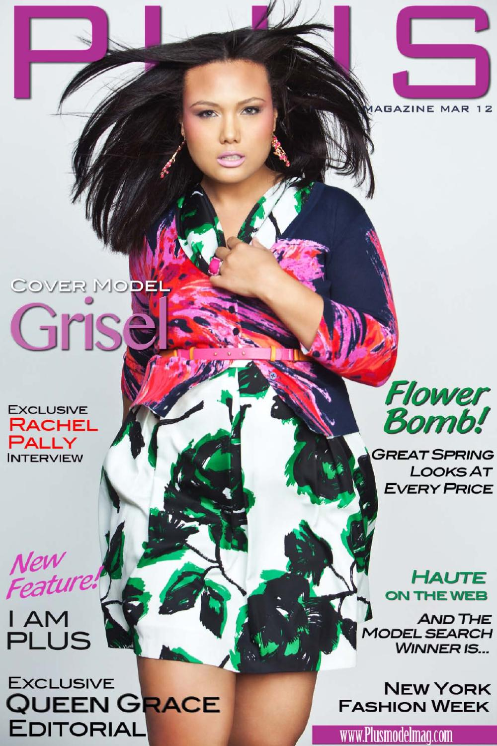 PLUS Model Magazine: March Issue Plus Size Featuring.