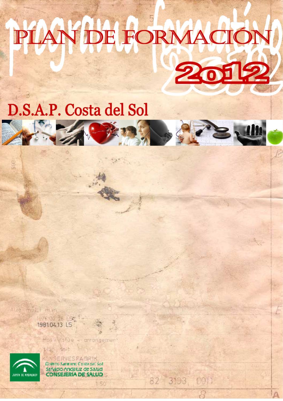 Plan De Formacion 2012 By Unidad Formacion Distrito Costa