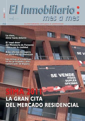 El Inmobiliario mes a mes   junio 2011 nº 106 by EL INMOBILIARIO MES ... bb33f6c2560