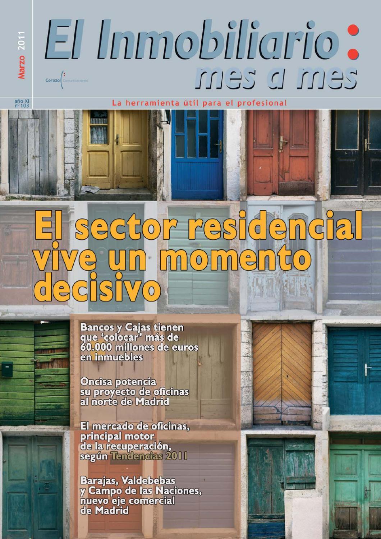 El Inmobiliario Mes A Mes Marzo 2011 N 103 By El Inmobiliario  # Muebles Kiabi Vizcaya