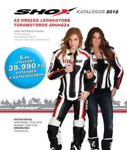 Shox Motoros Áruház 2012-es Katalógusa by Shox Kft. - issuu 68f6debd9d