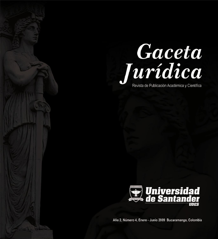 Gaceta Juridica 4 By Universidad De Santander