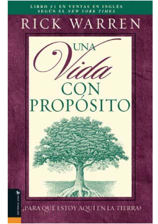 UNA VIDA CON PROPOSITO by Alejandra Cuesta - Issuu