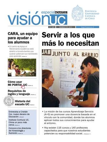 Visión UC Nº200 by Publicaciones UC - issuu 55f9c85c6b7