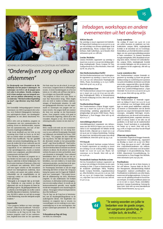 Dag van de Zorgkrant by W247 BE - issuu