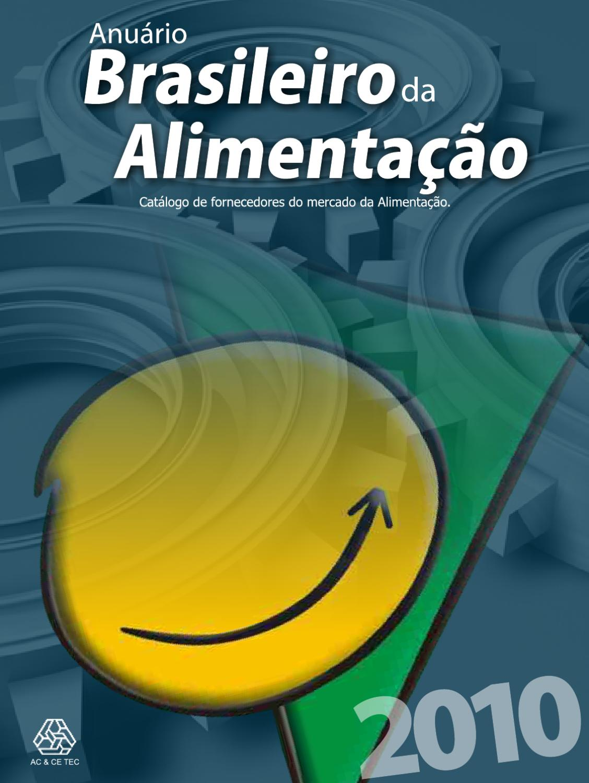 Anuário Brasileiro da Alimentação 2010 by Portal Alimentação Fora do Lar -  issuu 9fc6424633