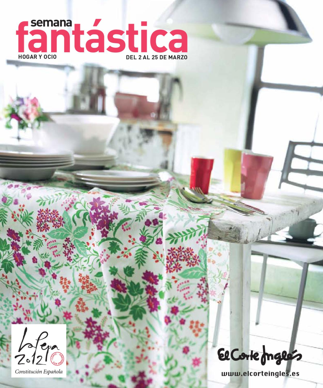 Semana Fant Stica El Corte Ingl S Hogar Y Ocio 2012 By