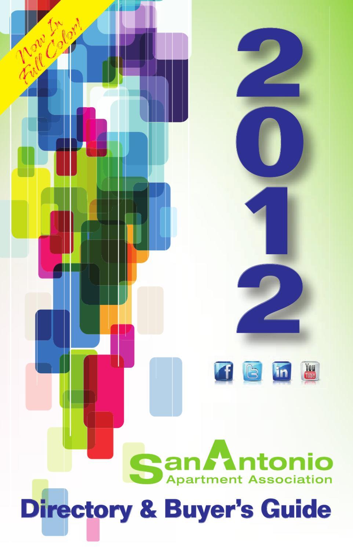 San Antonio Apartment Association 2012 Directory and Buyer\'s ...