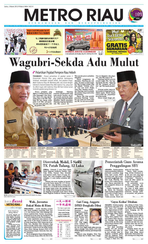 Metro Riau 03 2012 By Harian Pagi Issuu Mercedes Benz S 400 Tahun 20016 Karpet Mobil Comfort Deluxe 12mm Car Mat Full Set