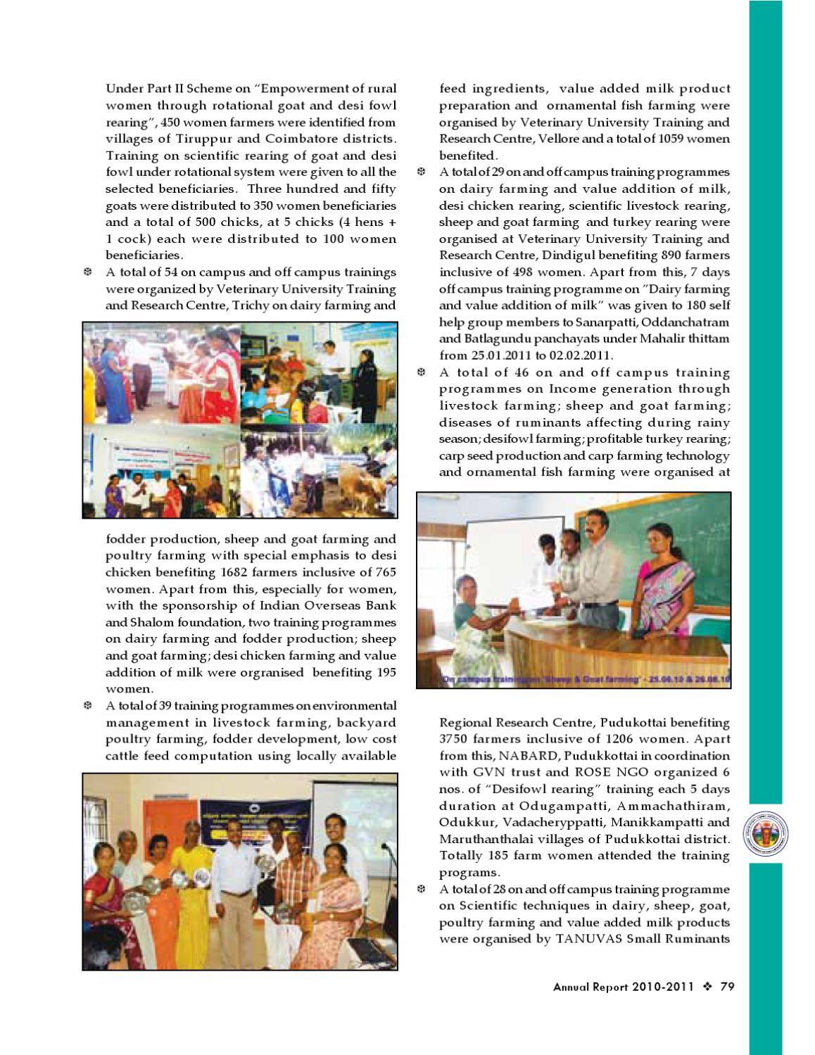 annual report of tanuvas by sureshkumar s issuu