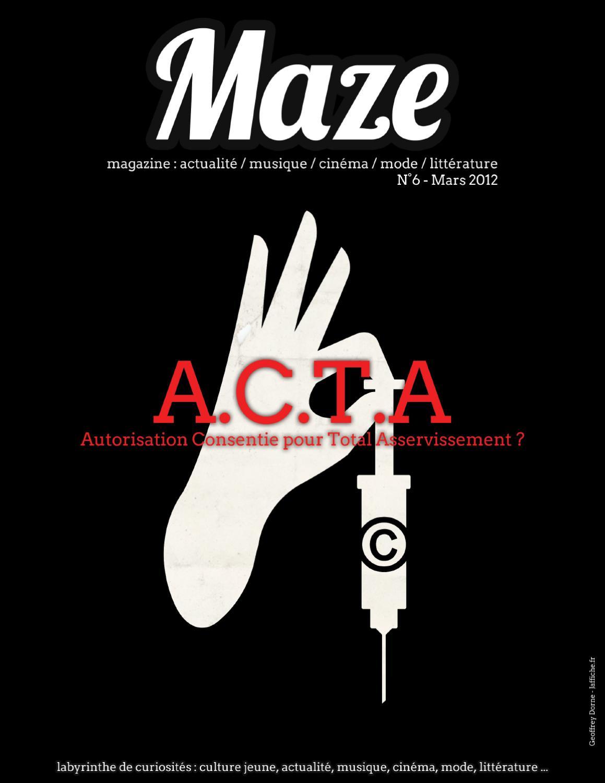 2012 By N°6 Issuu Magazine Maze Mars kXTOPZui