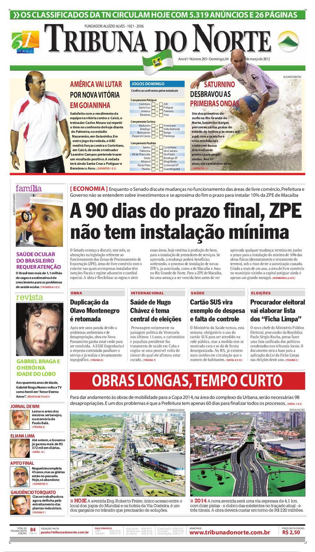 6c541017fd718 Tribuna do Norte - 04/03/2012 by Empresa Jornalística Tribuna do Norte Ltda  - issuu