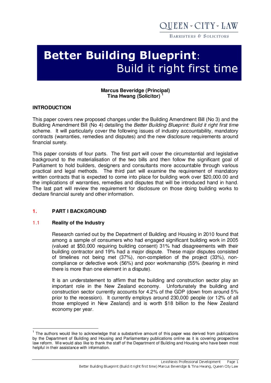 Better building blueprint marcus beveridge and tina hwang of qcl by better building blueprint marcus beveridge and tina hwang of qcl by queen city law issuu malvernweather Images