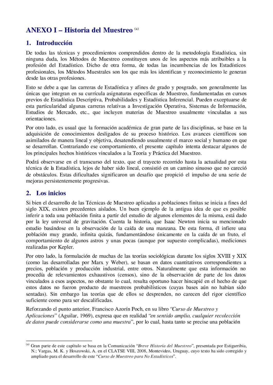 2 - Curso de Muestreo para No Estadísticos - ANEXO I by German ...