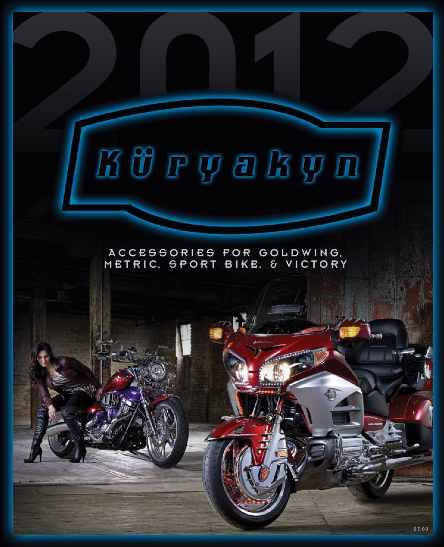 Kuryakyn Brake Master Cylinder Dress Up Kit Rear Chrome Honda VT1300//VTX1800
