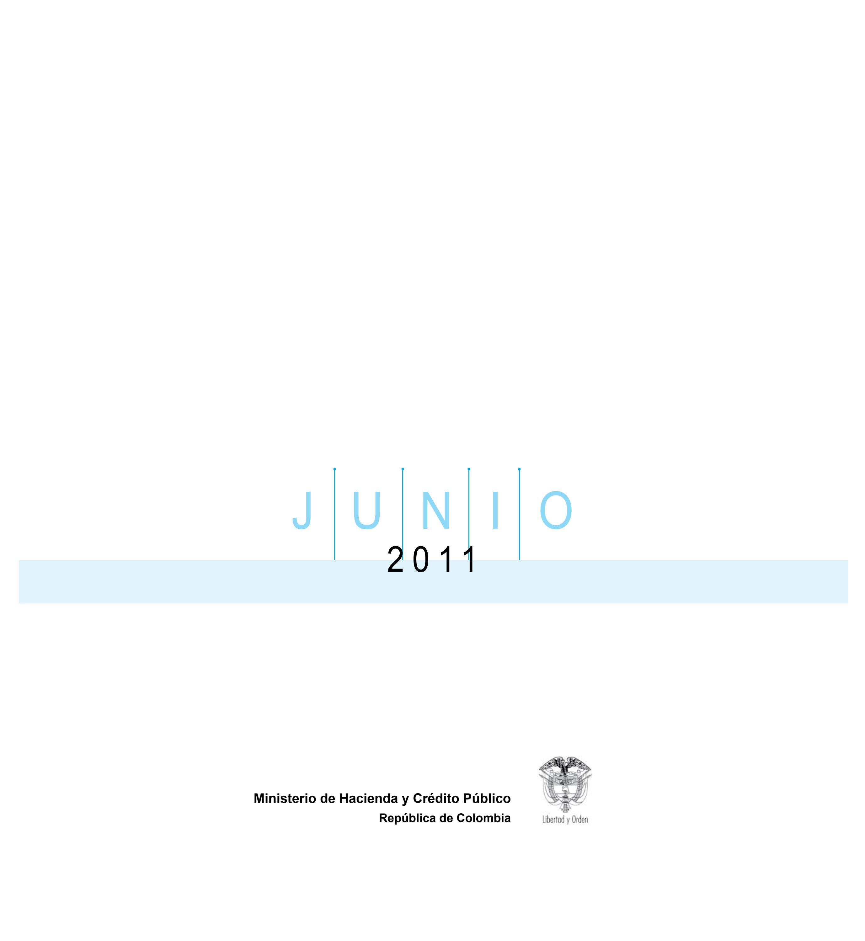 Marco Fiscal 2011 by Ministerio de Hacienda y Crédito Público - issuu