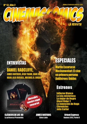 e0b8b049d5a44 Cinemascomics  La revista nº 13 by Carlos Gallego - issuu