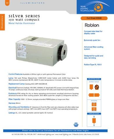 Visual Lighting Technologies Catalog 2009 By Visual Lighting ...