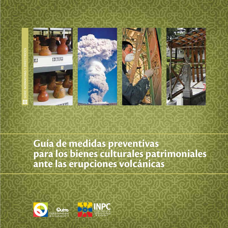 Guía de medidas preventivaspara los bienes culturales ...